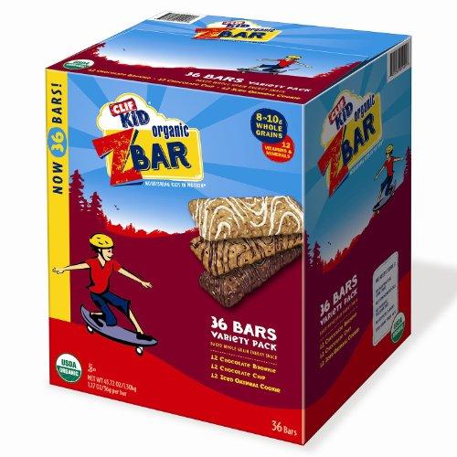 Clif Kids ZBAR Variety Pack - 36 pack