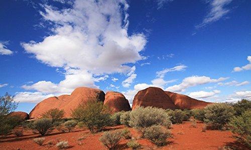 Home Comforts Laminated Poster Kata Tjuta Outback Landscape Desert Olgas Poster