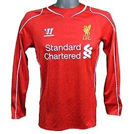 Warrior Maillot Domicile Manches Longues Liverpool 2014/2015 Gerrard