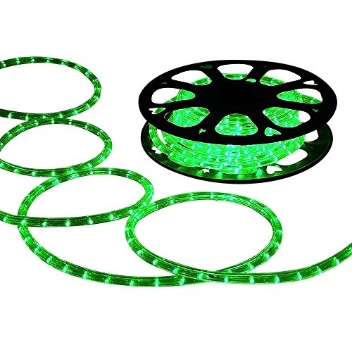 Neon Green Led Rope Lights in US - 3