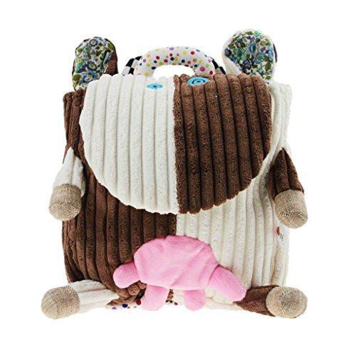 Kindergarten BAO Backpack Kids Frog Baby Boys Owl Cute Green Handbag Toddlers for Animal Bag Monkey Cow Cow School Exquisite Vivid Rucksack Frog CORE Girls Travel Tr8x4w5qPT