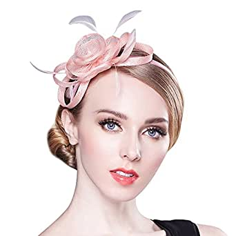 Women's Fascinator for Tea Party Derby Hat Banquet Head