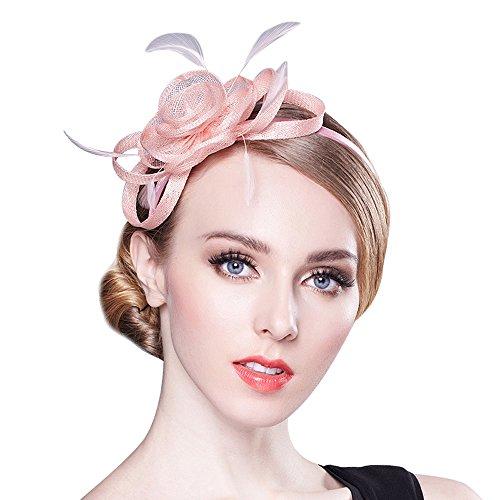 Women's Fascinator for Tea Party Derby Hat Banquet Head Wear