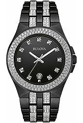 Bulova Men's Crystal - 98B251 Black Watch