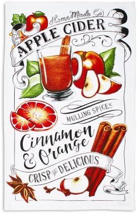 Amazon Com Sur La Table Apple Cider Kitchen Towel 28 X 18 Home Kitchen