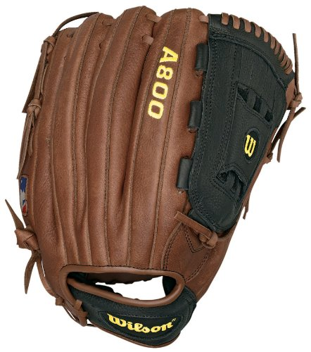 Wilson A800 1799 Game Ready Soft Fit Outfielder's Throw Baseball Glove (Right Hand, 12.5-Inch) by Wilson