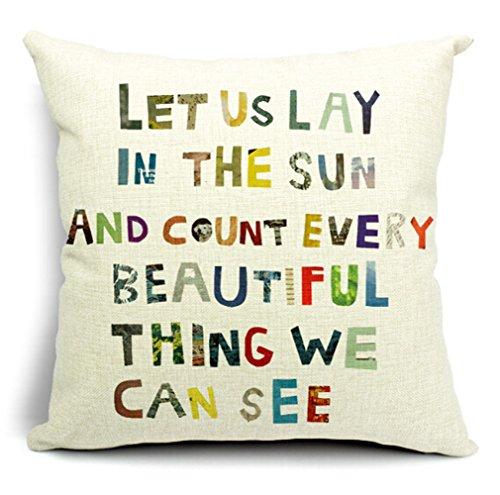 English Cartoon Cushion Decorative 18