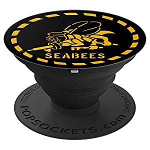 U.S. NAVY ORIGINAL NAVY SEABEES GIFT - PopSockets Grip and Stand for Phones and Tablets from PopSockets