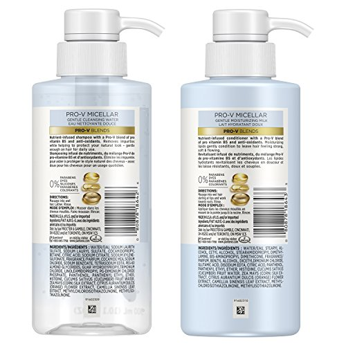 Buy daily shampoo and conditioner