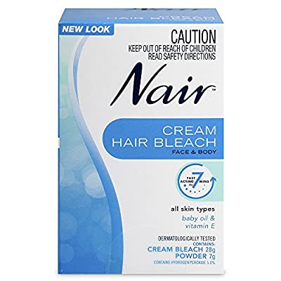 Nair Hair Bleach Cream Face & Body 28g + 7g