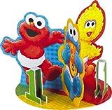 : Sesame Street 1st Birthday 8 3/4in Centerpiece