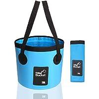 INHEMI Cubo Plegable 20L -Cubo de Camping Portátil Portador de Agua Contenedor de Lavado para Acampar Senderismo Pesca…