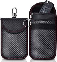 Keyless Go Schutz Autoschlüssel Schutz Keyless Hülle 2 Pack Rfid Funkschlüssel Abschirmung Schlüsseltasche Schlüsseletui...