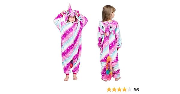 MMTX Pijamas Animal para Niñas Niños, Pijamas de Unicornio ...