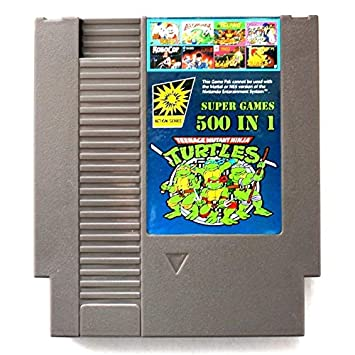 500 en 1 para para Nintend NES Classic Super Game Cartridge ...