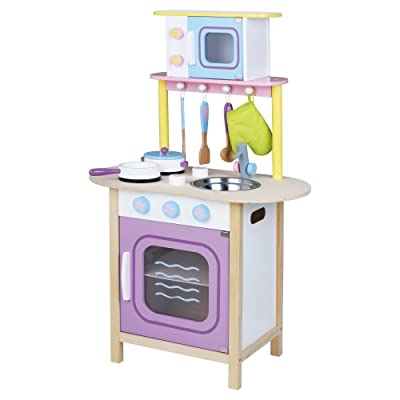 KIDS PREFERRED Windsor Kitchen with Microwave: Toys & Games