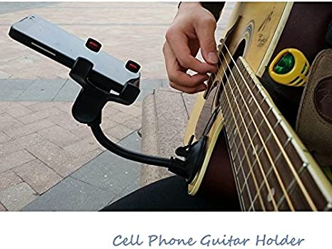 Soporte para teléfono Soporte para guitarra calle cantando letras ...