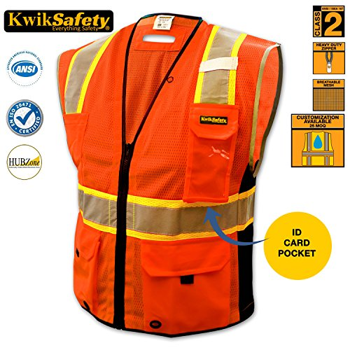 KwikSafety Comfortable Reflective Construction Motorcycle