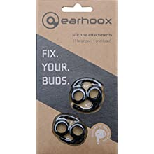 Earhoox 2.0 - for Apple EarPods & AirPods - Black