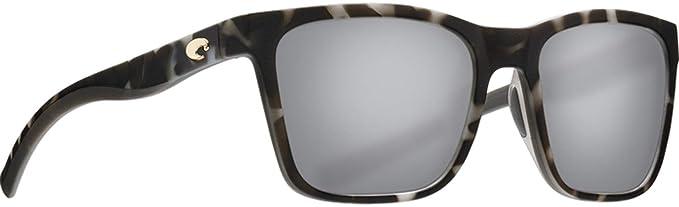 b68a6c918e4 Costa Del Mar - Panga - Matte Grey Tortoise Frame-Grey Silver Mirror 580  Poly