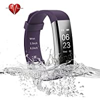 Ulvench Fitness Tracker, Heart Rate Monitor Smart Watch...
