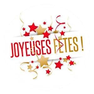 alfombrilla de ratón Felices Fiestas - ronda - 20cm