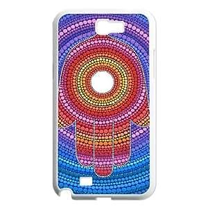 MANDALA HAMSA DIY Hard Case for Samsung Galaxy Note 2 N7100 LMc-04244 at LaiMc