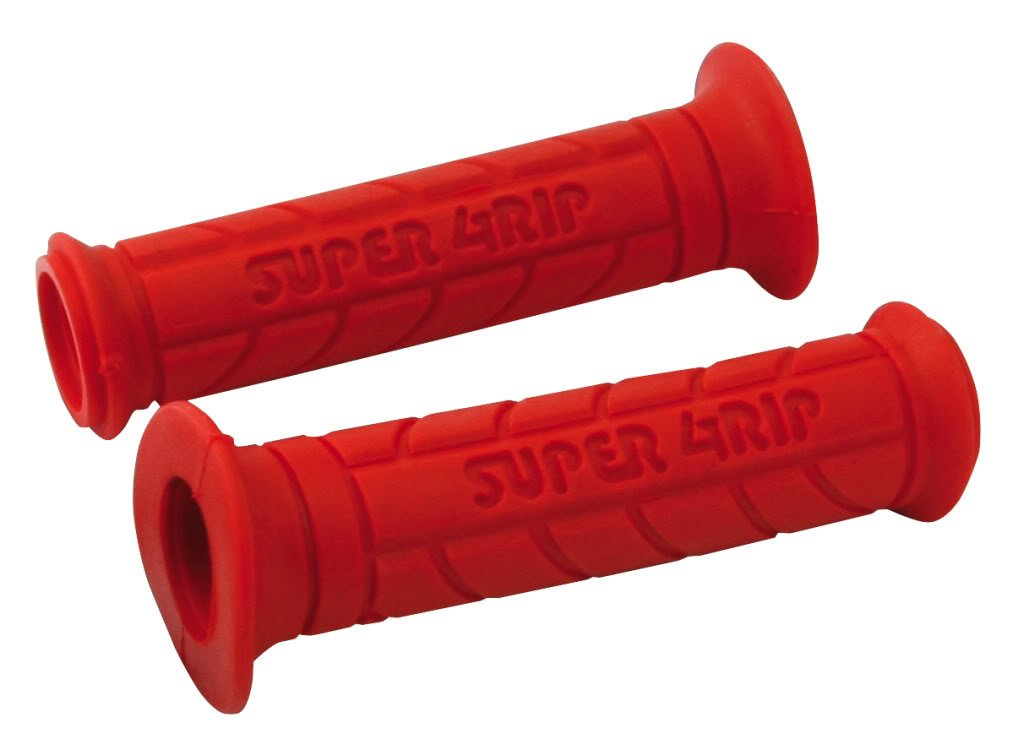 22MM LEFT 25MM RIGHT 130MM LENGTH PAIR OF RED SUPERGRIPS