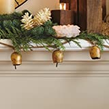 Mini Temple Bell Garland (Gold-Finished)