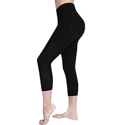 Keepwin Mallas Deportivas Mujer, Mujer Pantalones Largos ...