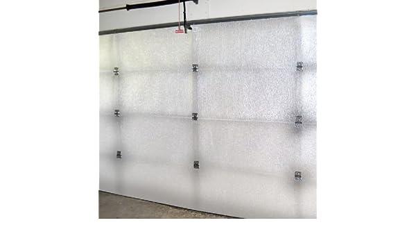 SuperShield reflectante blanco único coche Kit de núcleo de espuma de aislamiento para puerta de garaje: Amazon.es: Hogar