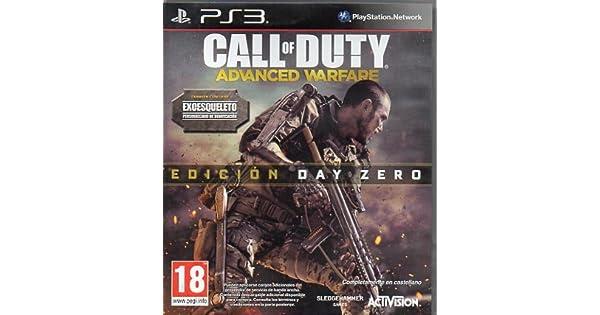 Call of Duty: Advanced Warfare - Edición Day Zero (Ps3): Amazon.es: Videojuegos