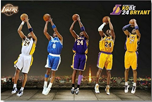 Tomorrow sunny Custom Poster Nice BedroomDecor Fashion photographic paper Well Design Kobe 4 Bryant wall paper#0612#