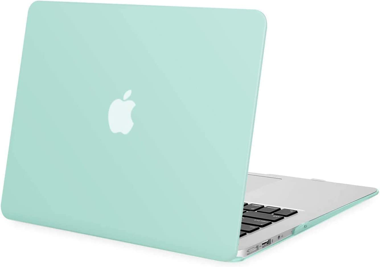 MOSISO MacBook Air 13 inch Case (Models: A1369 & A1466, Older Version 2010-2017 Release), Plastic Hard Shell Case Cover Only Compatible with MacBook Air 13 inch, Mint Green
