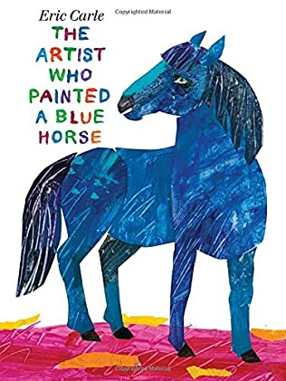 book cover of The Artist Who Painted a Blue Horse