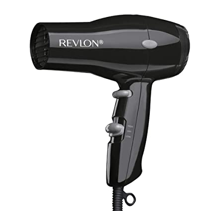 Best Hair Dryer 2020.Revlon 1875w Compact Lightweight Hair Dryer Black