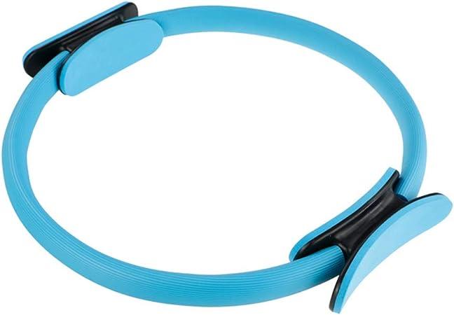 KUTO Unzerbrechlicher Pilates Ring Ultra-Eng Ausbalancierter K/örper Pilates Ring Fitness Circle Blau