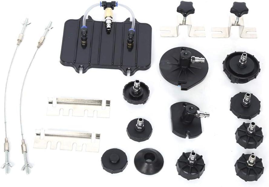 Set di 13 Pezzi Adattatore Dispositivo Freni Spurgo Freni con Valigetta Blu Kit di Utensili per spurgo Pneumatico della Pressione Pneumatica