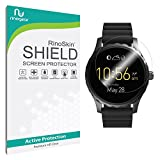 [6-PACK] Fossil Q Marshal Screen Protector Full Coverage [Military-Grade] RinoGear Premium HD Invisible Clear Shield Anti-Bubble