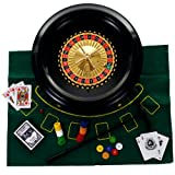 Trademark Global 16 Inch Roulette Set with Accessories