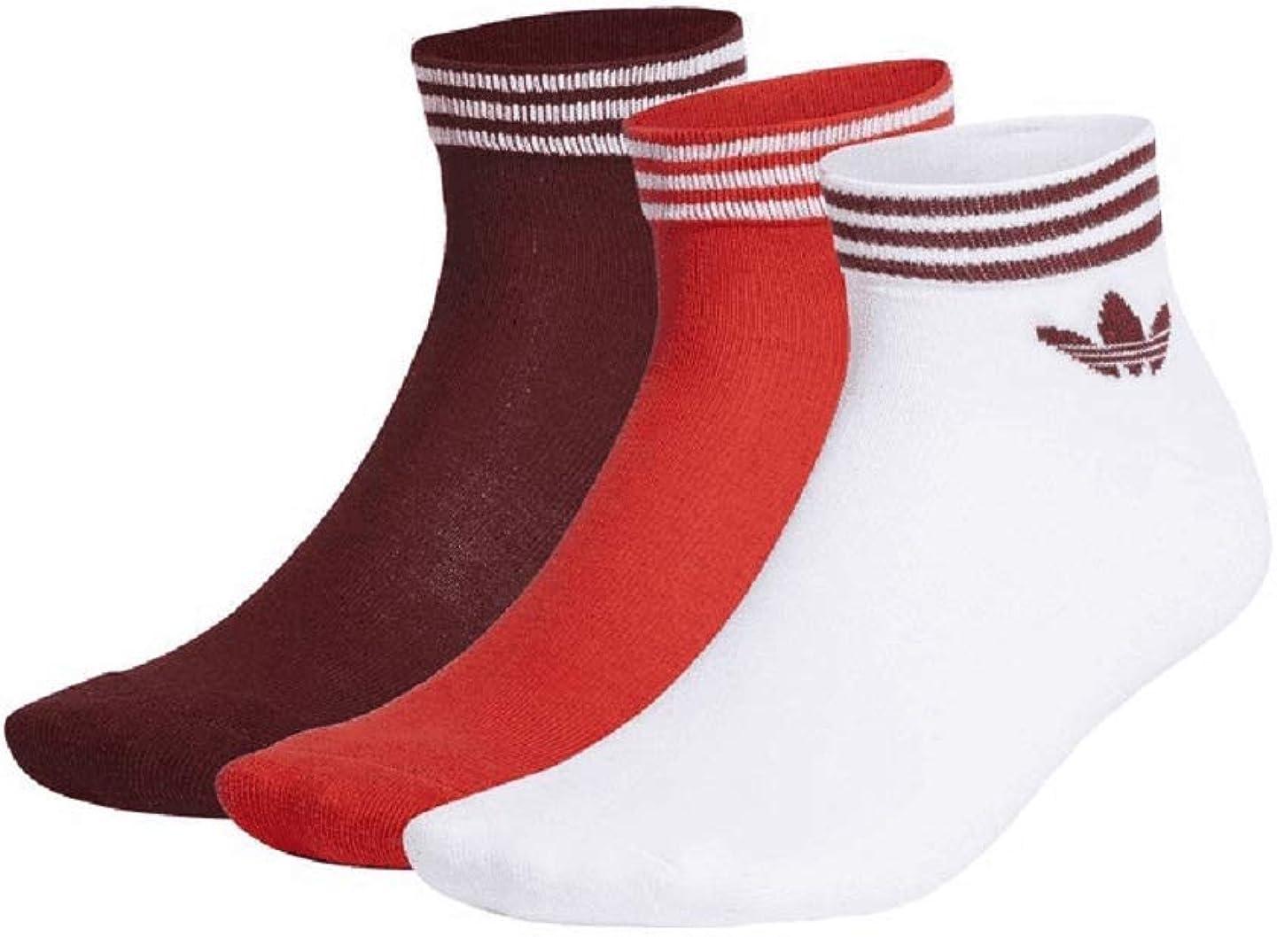 Adidas Trefoil Ankle Socks Lot de 3 paires de chaussettes