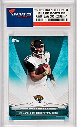 (Blake Bortles Jacksonville Jaguars 2014 Topps Rookie Premiere #RPA-BB Rookie Card - Football Slabbed Rookie Cards)
