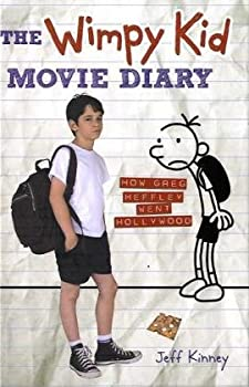 The Wimpy Kid Movie Diary: How Greg Heffley Went Hollywood 0810996847 Book Cover
