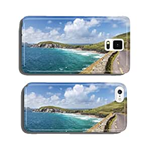 Coastal road at Slea Head Drive cell phone cover case Samsung S6