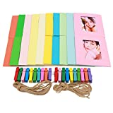 Ablus 20Pcs Paper Photo Frame Set for Fujifilm
