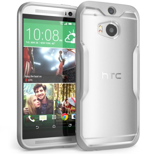 HTC One M8 Case, SUPCASE Unicorn Beetle Premium Hybrid Protective Case for All New HTC One M8 2014 (Htc One M8 Premium Case)