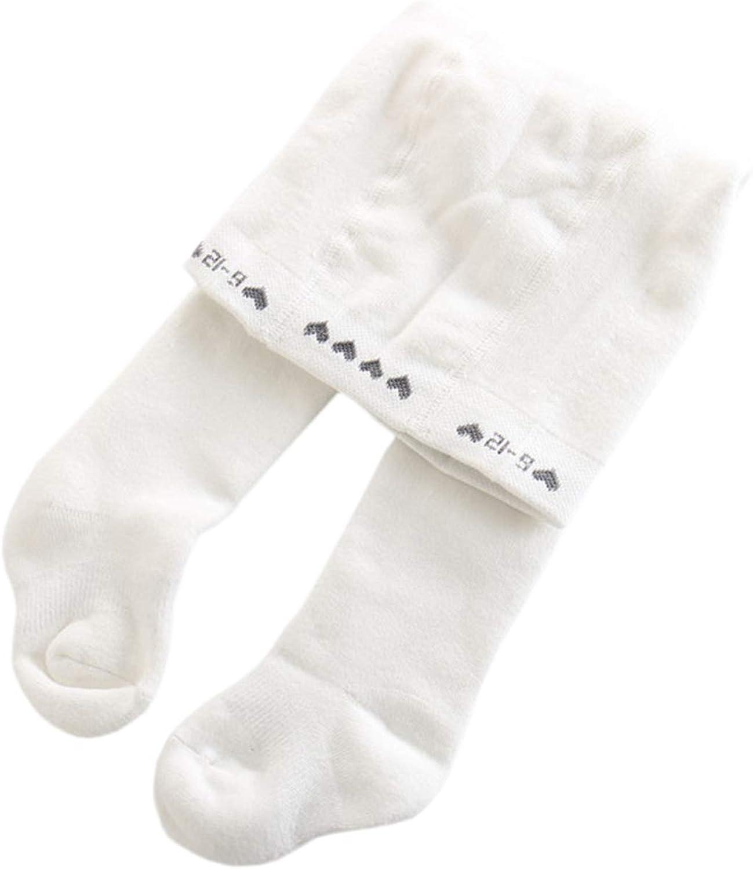 Evelin LEE 3 Packs Baby Girls Cotton Stock Legging Pants Non-Skid Tights Panties