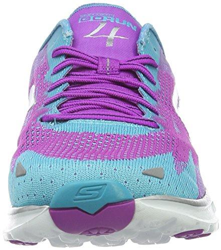 2016 Skechers de Run Mujer Morado para Zapatillas Running 4 Go Prtl q7tw71
