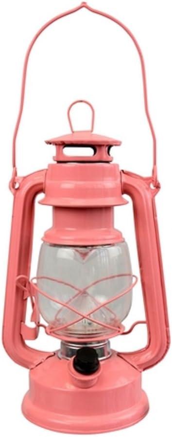 RCS Gifts LED Lantern, Coral Pink