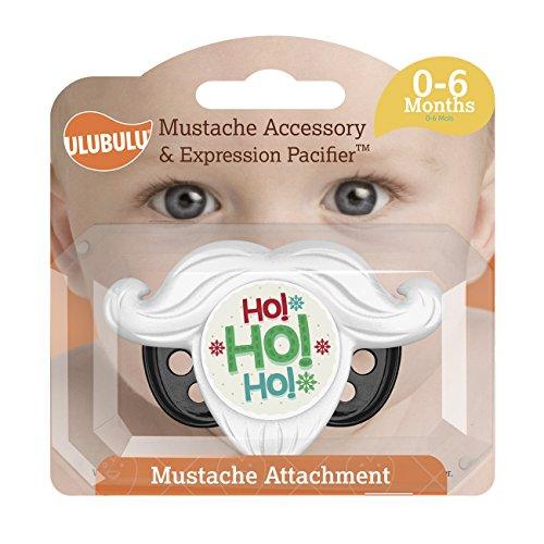 Ulubulu Pacifier Holiday HoHoHo Mustache